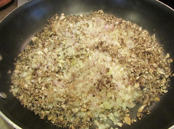 While vegetables are cooking add the chicken livers to food processor, and pulse till...