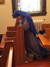 Photo: Sr Fiat at the Convent Chapel