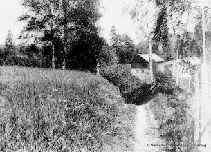 Photo: Gösaboda. Ladugården revs i början av 1970-talet