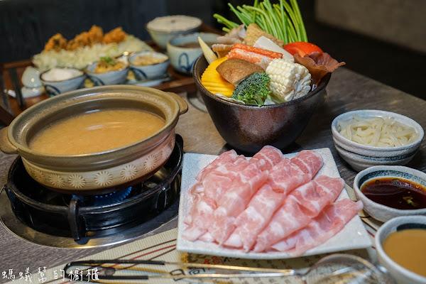 南投埔里日高鍋物 埔里日式鍋物,特色主打酒釀味噌湯,另有定食套餐,埔里聚餐吃鍋推薦。