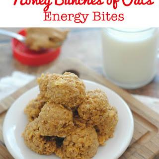 Honey Bunches of Oats Energy Bites.