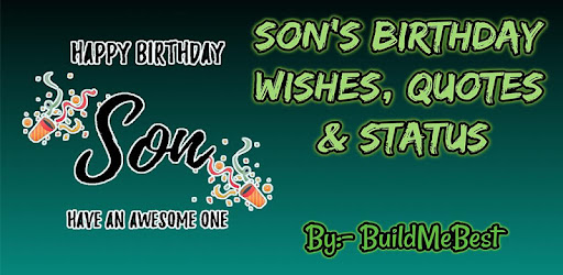 Happy Birthday Son wishes, Quotes & Greeting Cards - Apps on Google Play