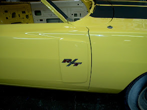 Photo: RT badges and 1970 only door scoops where non functional but looked cool just the same
