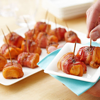 Sriracha Chicken and Brown Sugar Bacon Bites