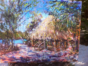 Photo: Oil Painting by Al Biegel / At Gumbo Limbo