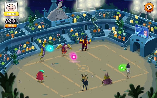 Rockstars of Ooo- screenshot