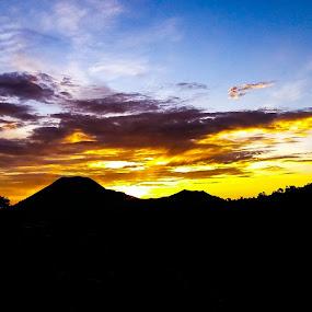 Tomohon sunset by Rizal Pungus - Landscapes Sunsets & Sunrises