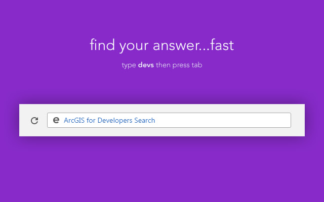ArcGIS for Developers Search