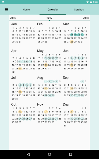Period and Ovulation Tracker screenshot 13