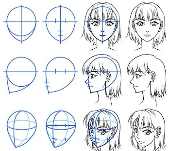 diy anime drawing step by step screenshot thumbnail
