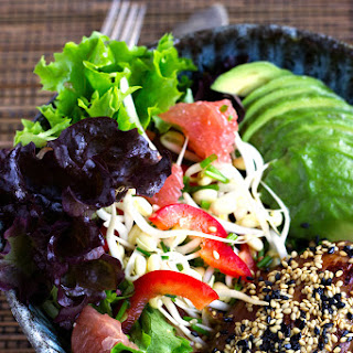 Grapefruit Avocado Chicken Salad