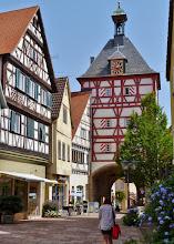 Photo: Bietigheim: Unteres Tor Einzig erhaltenes Tor der Stadt (Ende 14. Jh.).