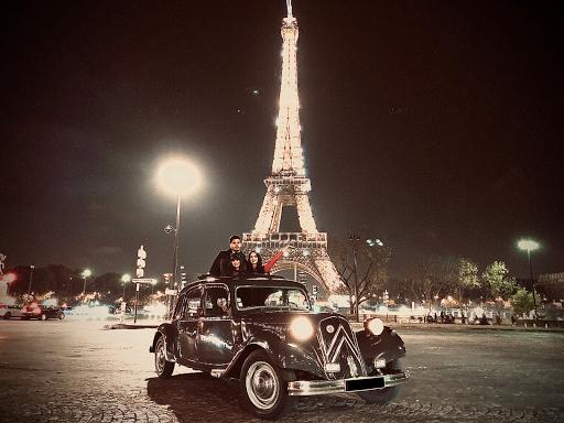 Visite de Paris en Citroen