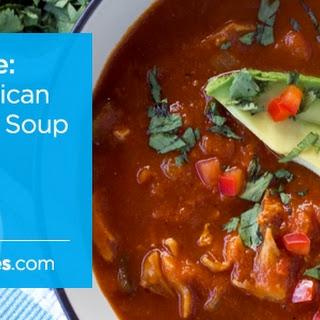 Smoky Mexican Tortilla-less Soup.