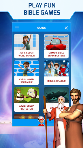 Superbook Kids Bible, Videos & Games (Free App) v1.8.4 screenshots 9