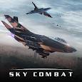 Sky Combat: war planes online simulator PVP icon