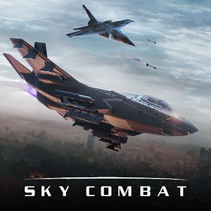 Sky Combat war planes online simulator PVP 0.2 by Azur Interactive Games Limited logo