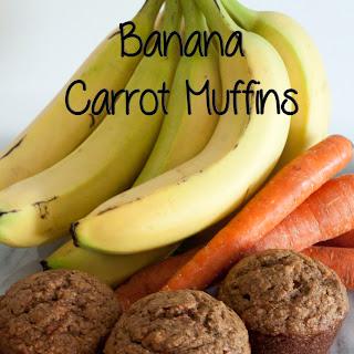 Banana Carrot Muffins Recipe