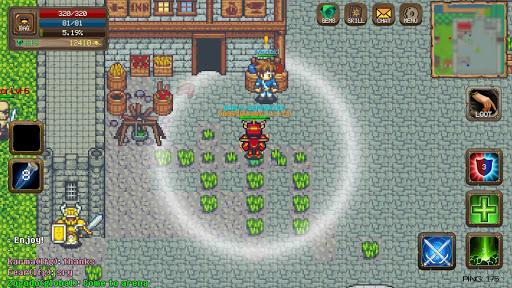 Laurum Online - MMORPG 2D  screenshots 5