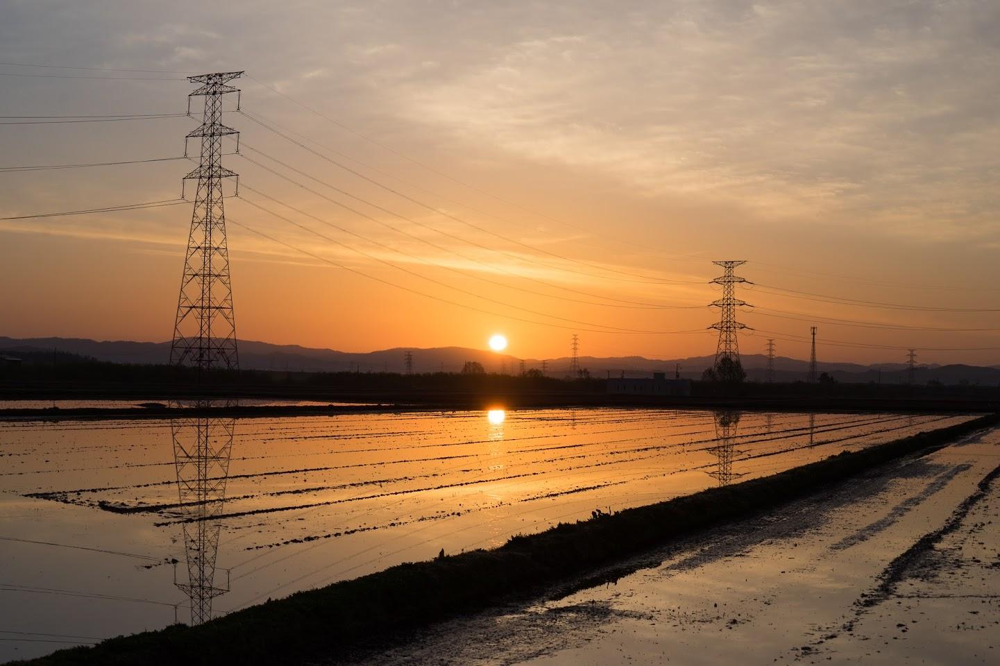 ふたつの朝陽
