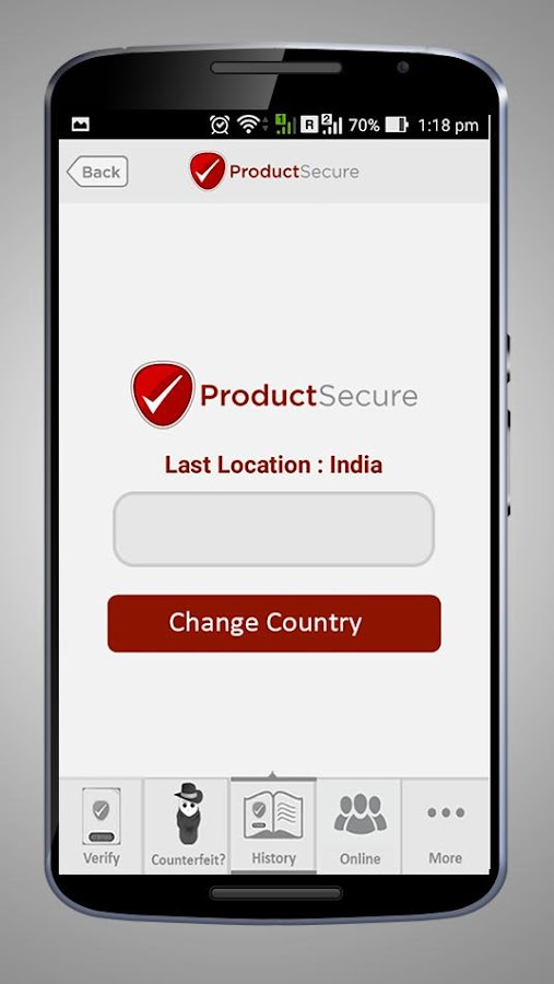 ProductSecure - Product Secure- screenshot