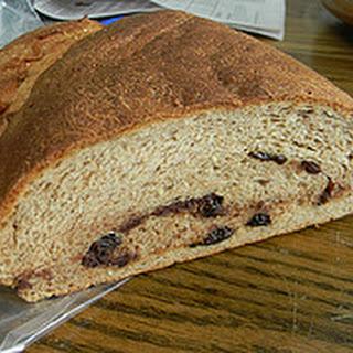 Chocolate Almond Prune Bread.