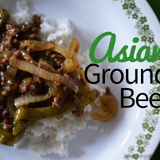 Asian Ground Beef Recipe