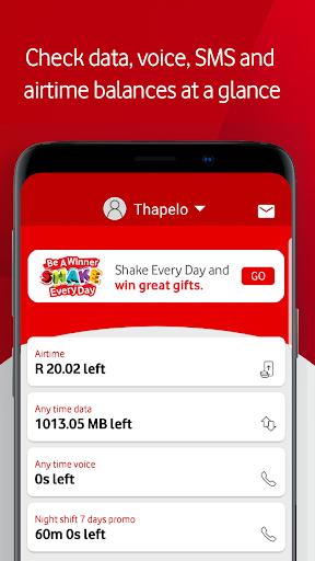 My Vodacom SA 10.5 screenshots 2