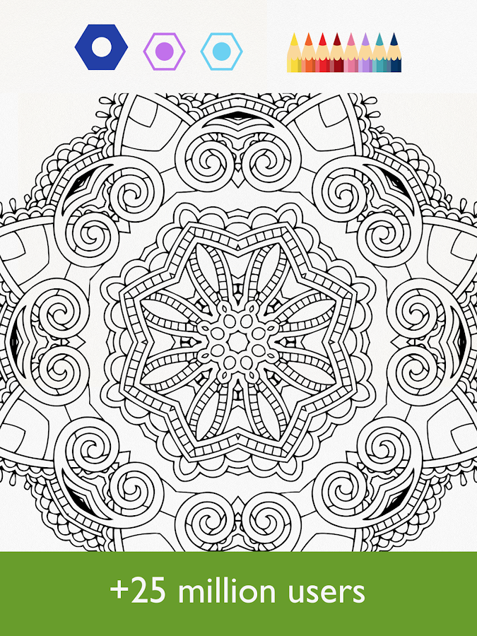 Screenshots of Colorfy - Coloring Book Free for iPhone