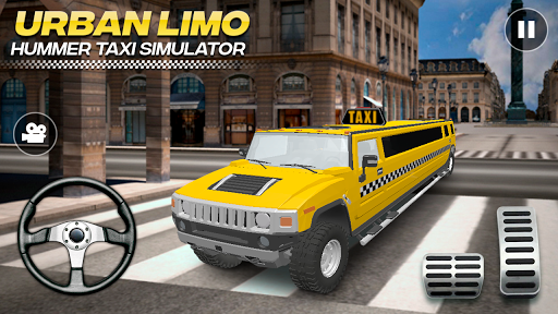 Urban Hummer Limo taxi simulator 6.0 screenshots 2