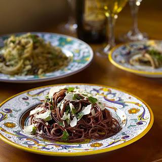 Spaghetti with Red Wine Recipe