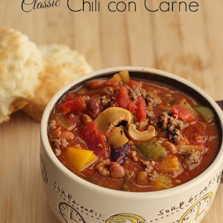 Classic Chili con Carne.