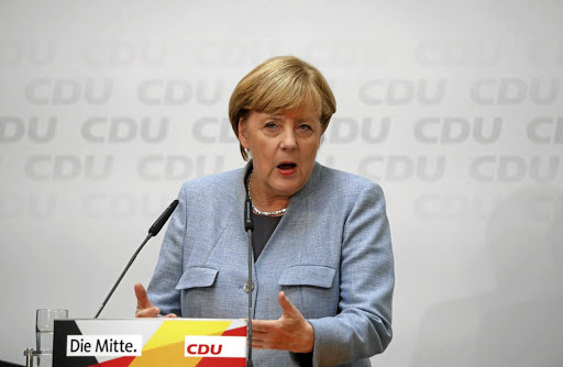 Christian Democratic Union party leader and German Chancellor Angela Merkel. Picture: REUTERS