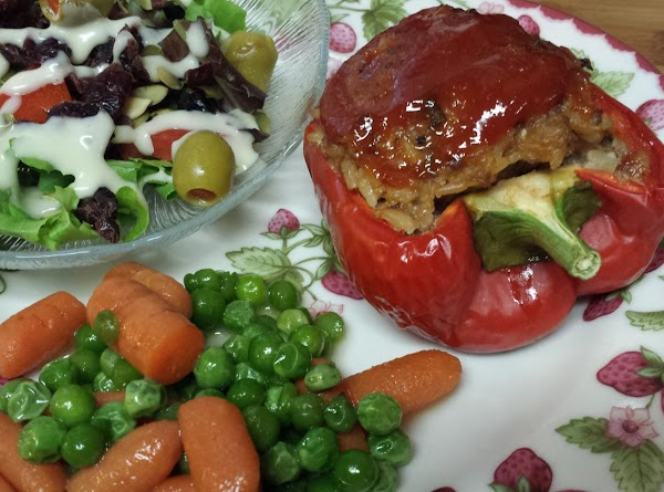 Meatloaf Pepper Boats Recipe