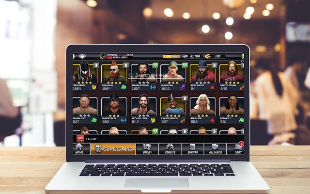 WWE Mayhem HD Wallpapers Game Theme