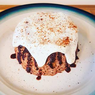 Cinnamon Roll Mug Cake.