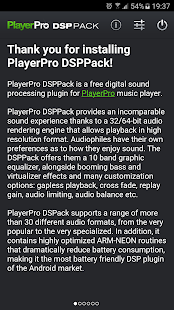 PlayerPro DSP pack- screenshot thumbnail