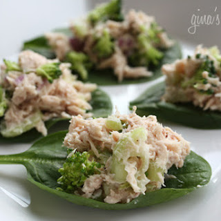 Tuna Salad Wraps.