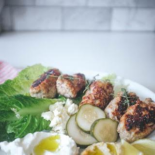 Turkey Kofta (Turkish Meatballs)