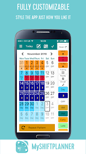 My Shift Planner - Your Personal Work Calendar - náhled