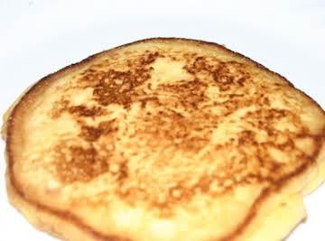 Crispy Cornmeal Pancakes