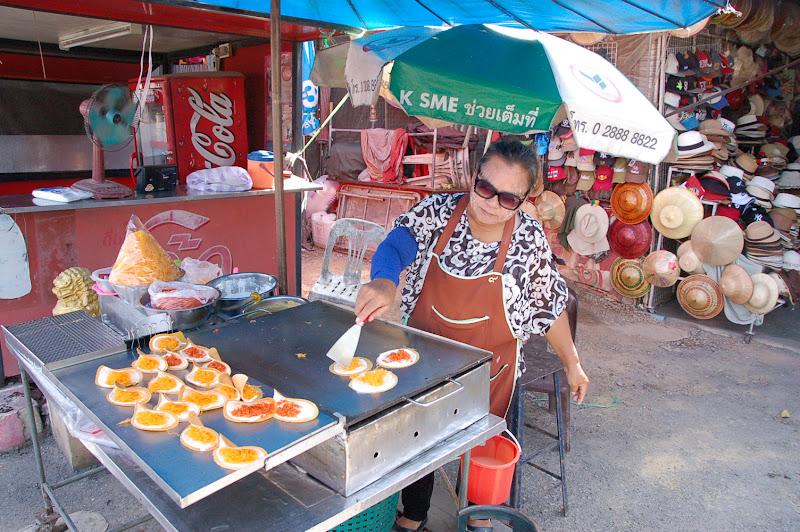 Street food tailandese di luchetto