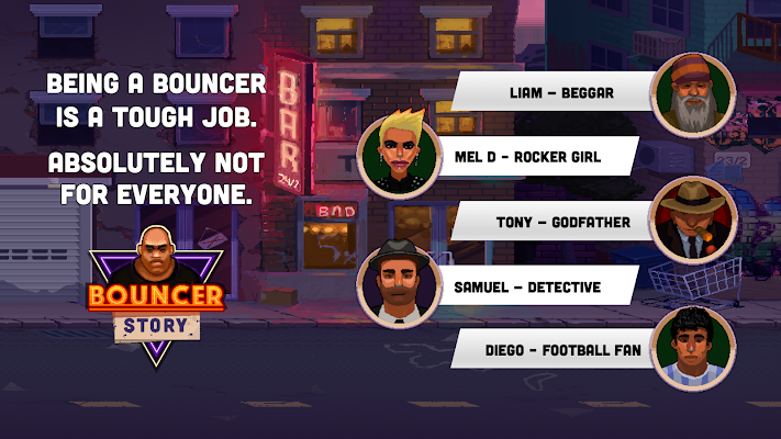 Bouncer Story Screenshot Image