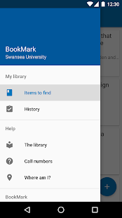 BookMark – Swansea Uni Library- screenshot thumbnail