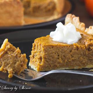 Pumpkin Mousse Pie