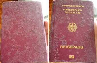 Photo: ob sie mich damit zurück in die Bundesrepublik lassen?