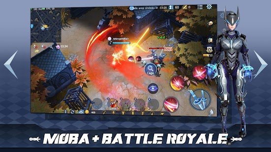 Survival Heroes - MOBA Battle Royale Screenshot