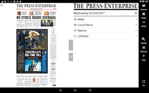 Press Enterprise- screenshot thumbnail