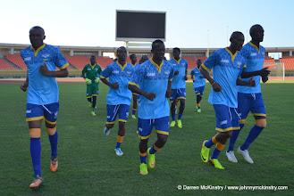Photo: Rwanda Amavubi in final training - 13 June 2015  [Training camp ahead of Rwanda Amavubi v Mozambique on 14 June 2015 (Pic © Darren McKinstry / www.johnnymckinstry.com)]