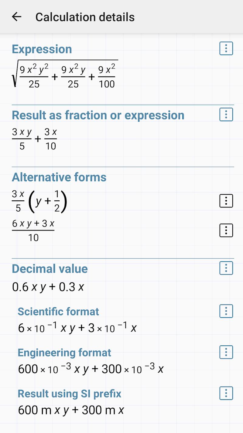 HiPER Calc Pro Screenshot 4